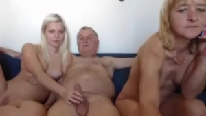 Blonde mature mature and young guy
